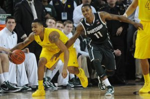 If MSU wants to make a deep tournament run, it starts and ends with Keith Appling. (Photo:  Melanie Maxwell I AnnArbor.com)